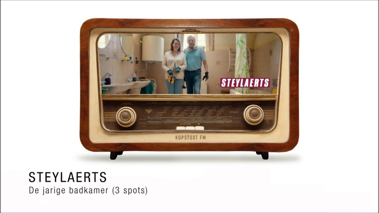 RADIO COMMERCIAL | Steylaerts - de jarige badkamer (3 spots) - YouTube