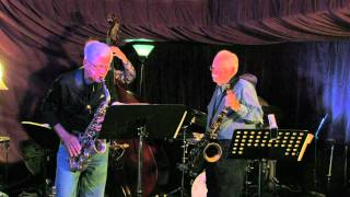 Dave Karr and Brian Grivna at Jazz Central