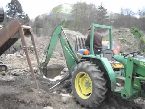 Oregon Gold Mining - Trommel Operation Part 1