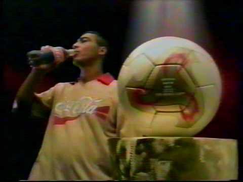 propagandas da Copa 2002 - Coca Cola & Romário