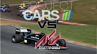 Assetto Corsa vs. Project Cars