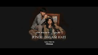 Gambar cover Arsy Widianto, Brisia Jodie - Rindu Dalam Hati (Lyrics)