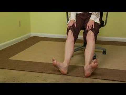 Office Chair Yoga Stretches : Office Chair Yoga: Calve Stretches