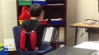 Kids with Disabilities Handcuffed at a Kentucky Elementary School, Families Sue | Mashable News
