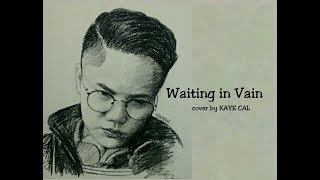 waiting in vain by bob marley cover by kaye cal lyric video