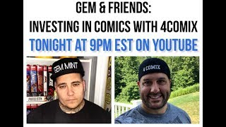 Gem & Friends: Investing in Comics with 4Comix