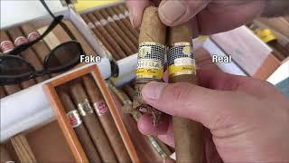 How tell a fake / real Cohiba …