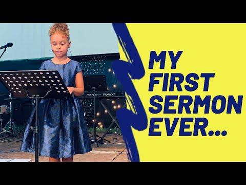 Download 7yo. PREACHES HER FIRST SERMON | ESTHER | CHILDREN PREACHING