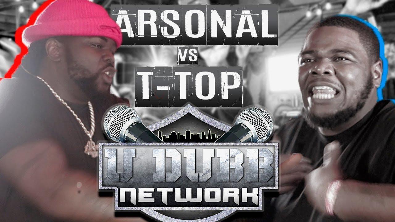 Arsonal vs T-Top | UDubb Get The Strap