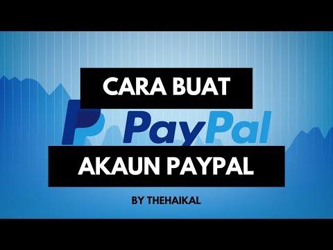 Cara Buat Akaun Paypal Malaysia 2017