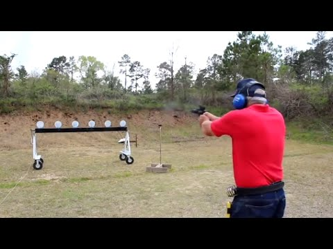 World's Fastest Handgun Shooter - 2014 World Record Gun Shooting Championship