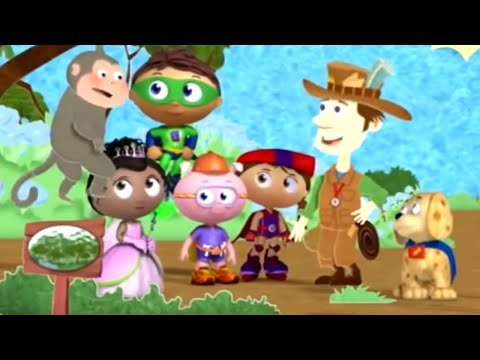 Super Why and the Around the World Adventure | Super WHY! S02 E14