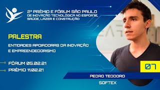 ENTIDADES APOIADORAS DA INOVAÇÃO E EMPREENDEDORISMO | SOFTEX -  PEDRO TEODORO