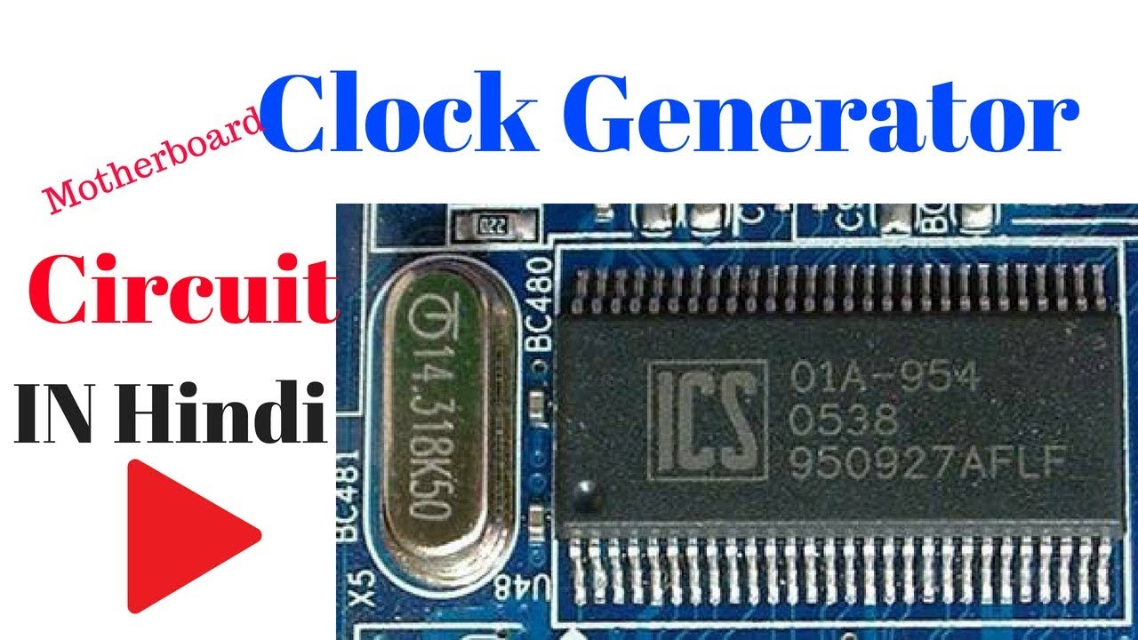 How to work clock generator IC in motherboard
