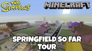 Minecraft Simpsons Springfield So Far Tour