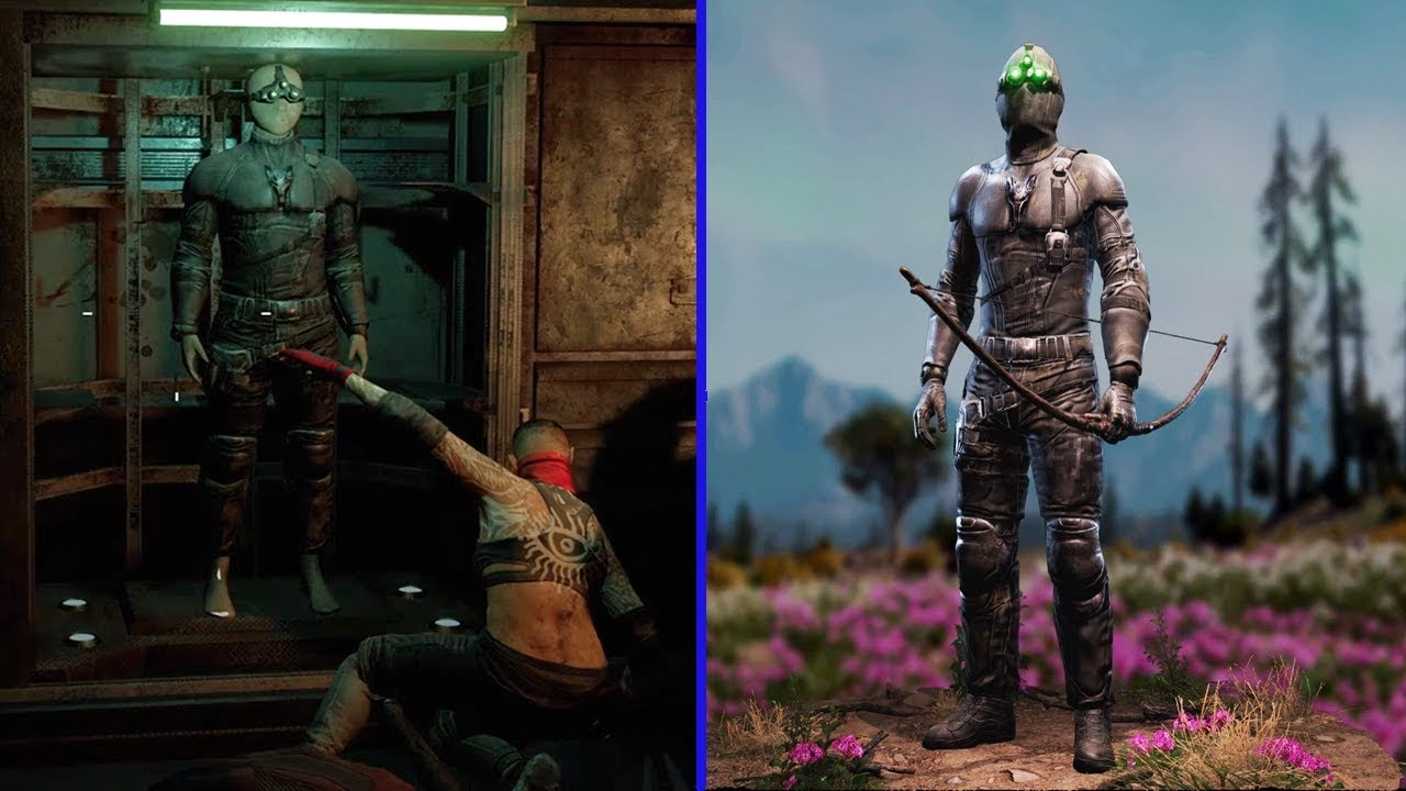 Far Cry New Dawn Splinter Cell Easter Egg How To Unlock Sam Fishers Suit