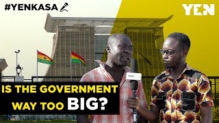 Ghana News Today: Is President Akufo-Addo's government becoming too big? | #Yenkasa