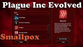 Plague Inc Evolved Scenario - Smallpox