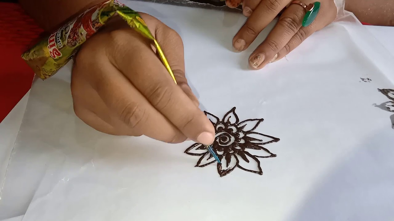 Diy simple and easy tikki style mehndi design for beginners 2020