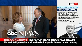 Republicans go on the offensive in impeachment probe l ABC News