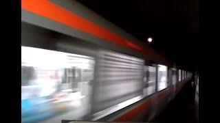 【音量注意】つくばエクスプレス TX-2000系 快速つくば行 みらい平駅通過(通過放送&高速通過)