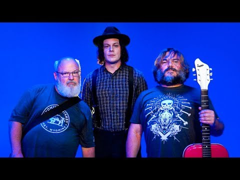 Hudson - Jack Grey ????!!!!! Jack White and Jack Black tease new music!!!! YESSSSS