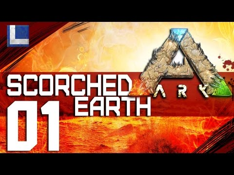 ARK: SCORCHED EARTH E1 on Pooping Evolved 1st Tame and Heat Storms