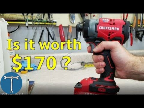 Review: new Craftsman brushless impact driver from Lowe's