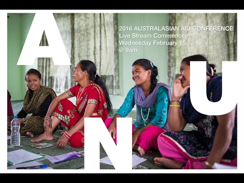 Australasian Aid Conference  - Live Stream - Day 1 - Morning Session