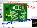 How to make PCB - Part 1 - Drawing PCB in Sprint Layout