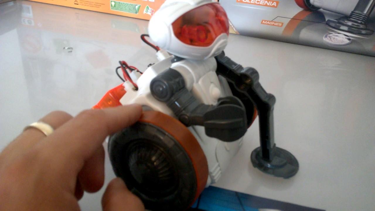6e9e108d661f Robot Mio Clementoni - przebieg zabawy - YouTube