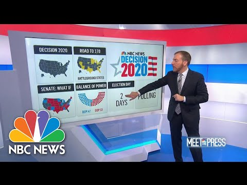 On Election Night, These Are The First States To Watch | Meet The Press | NBC News