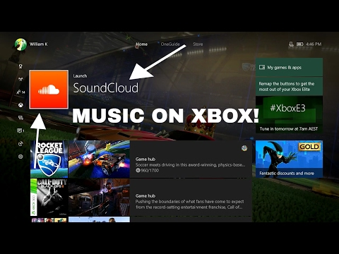 Xbox One - How To Listen to Music While Playing Games (SoundCloud)