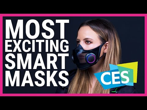Most exciting Smart Masks of CES 2021