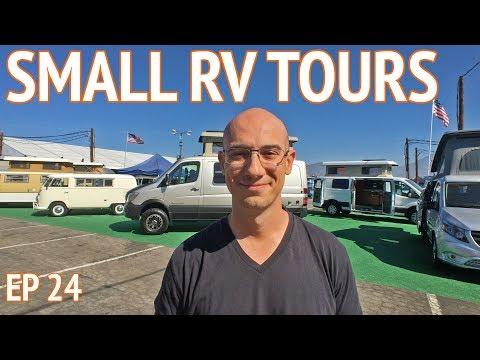 small-rv-tours-at-ca-rv-show-|-camper-van-life-s1:e24