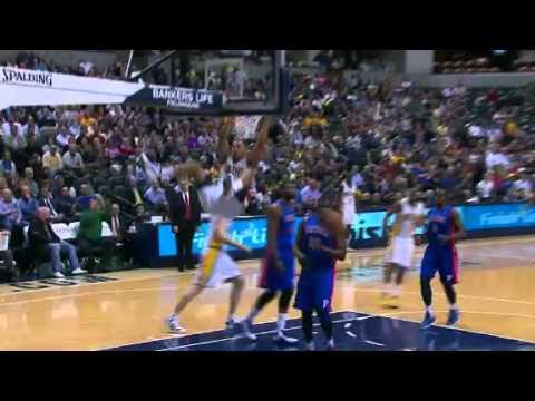 AJ Price Flings the Ball to Jeff Pendergraph - 04.23.2012