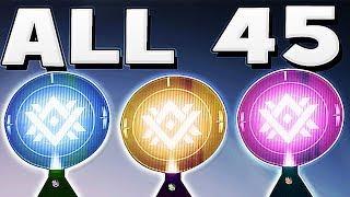 Destiny 2 - ALL 45 DATA FRAGMENTS LOCATIONS !