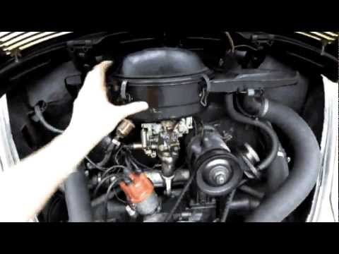 72 vw beetle engine work youtube. Black Bedroom Furniture Sets. Home Design Ideas