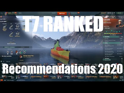 T7 Ranked Recommendations May 2020