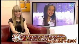 María Isabel Le Da Una Sorpresa a Zaira En Menuda Noche 2012