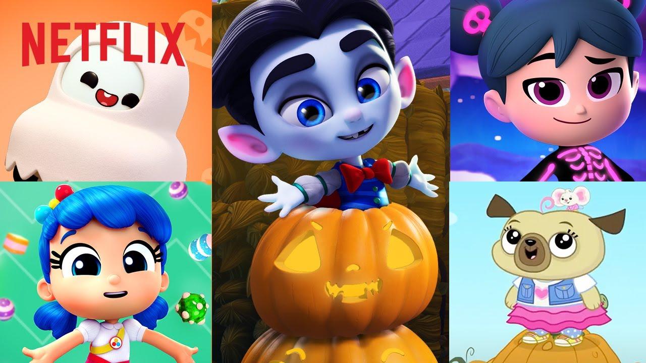 Happy Halloween from Netflix Jr! 🎃 Starbeam Full Ep & True, Chip & Potato, Cory Carson, & More