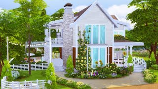 The Sims 4: Строительство | Redford Cottage