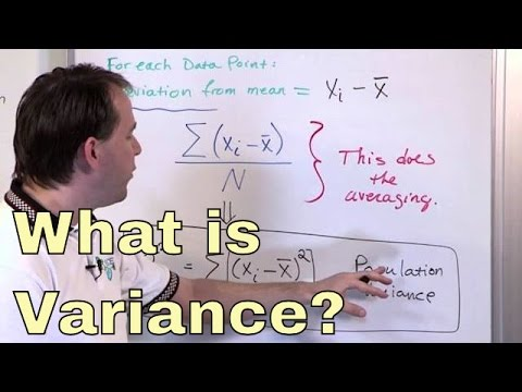 What is Variance in Statistics?  Learn the Variance Formula and Calculating Statistical Variance!