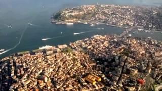 istanbul havadan görünüm HD