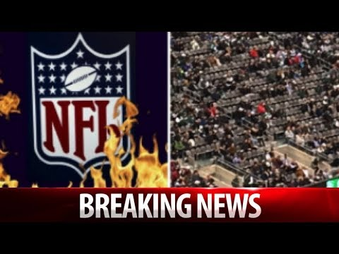 NFL GETTING DESPERATE! TICKET PRICES FALL TO $19 AS RATINGS NIGHTMARE CONTINUES!