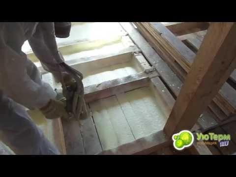 Cмотреть онлайн Утепление деревянного пола видео