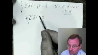 Уравнения Максвелла 3: циркуляция поля.