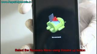 Hard Reset Micromax A1 AQ4502 ( Android one) for hang / password forgot problem
