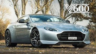 Aston Martin V12 Vantage V600: Analogue Excellence - Carfection (4K)
