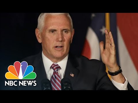 Mike Pence Mocks Oprah On Stump For Brian Kemp: 'This Ain't Hollywood' | NBC News